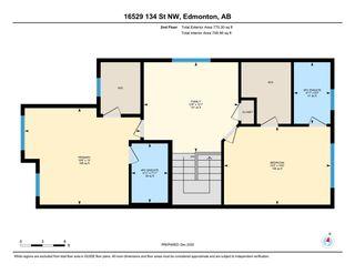 Photo 42: 16529 134 Street in Edmonton: Zone 27 House Half Duplex for sale : MLS®# E4239330