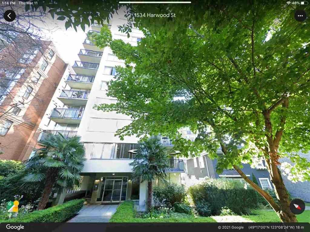 """Main Photo: 201 1534 HARWOOD Street in Vancouver: West End VW Condo for sale in """"St. Pierre"""" (Vancouver West)  : MLS®# R2549664"""