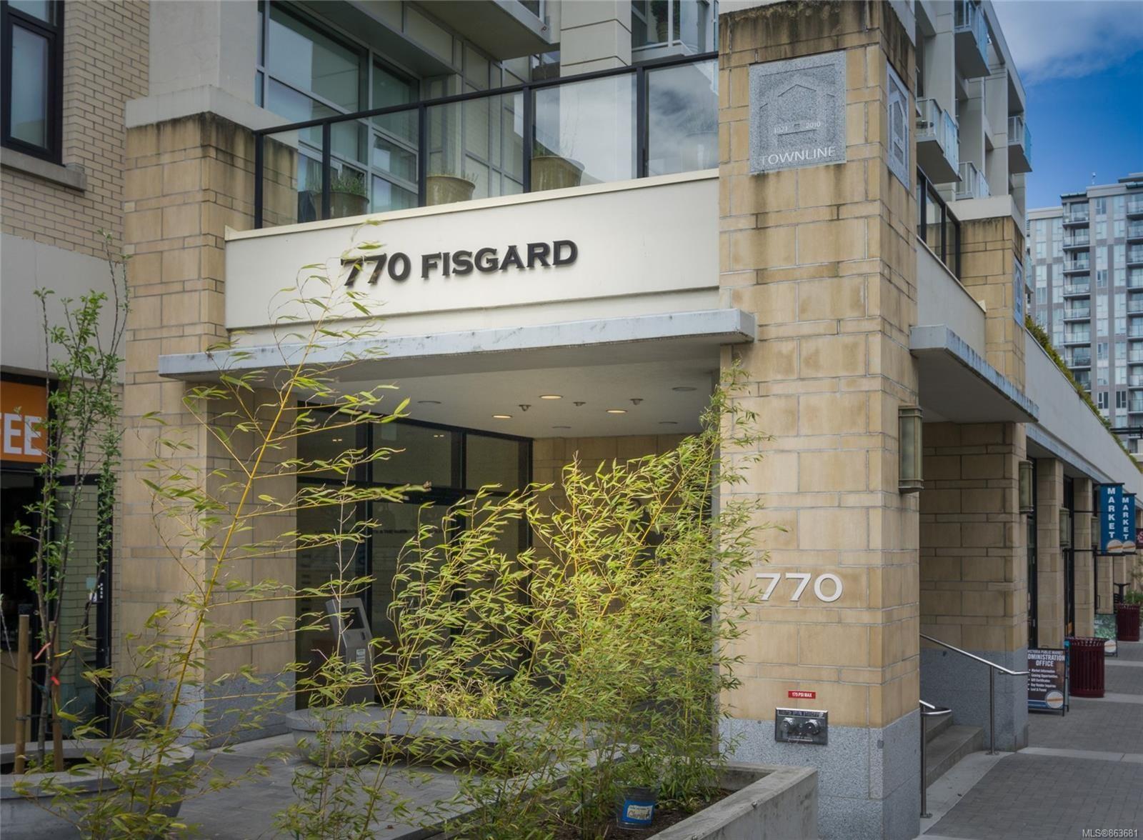Main Photo: 234 770 Fisgard St in : Vi Downtown Condo for sale (Victoria)  : MLS®# 863681
