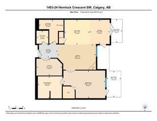 Photo 36: 1403 24 Hemlock Crescent SW in Calgary: Spruce Cliff Apartment for sale : MLS®# A1147232