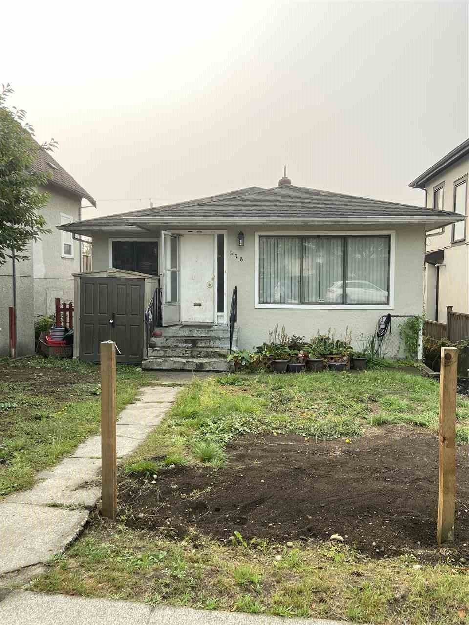 Main Photo: 478 E 60TH Avenue in Vancouver: South Vancouver House for sale (Vancouver East)  : MLS®# R2502042