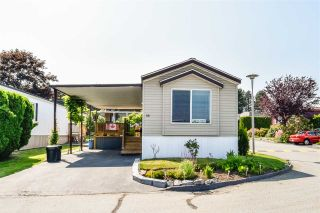 """Photo 1: 38 15875 20 Avenue in Surrey: King George Corridor Manufactured Home for sale in """"Sea Ridge Bays"""" (South Surrey White Rock)  : MLS®# R2375018"""