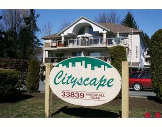 """Photo 1: 204 33839 MARSHALL Road in Abbotsford: Central Abbotsford Condo for sale in """"CITY SCAPE"""" : MLS®# F2905409"""