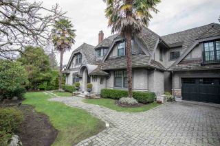 Photo 1: 1677 SOMERSET Crescent in Vancouver: Shaughnessy House for sale (Vancouver West)  : MLS®# R2529058