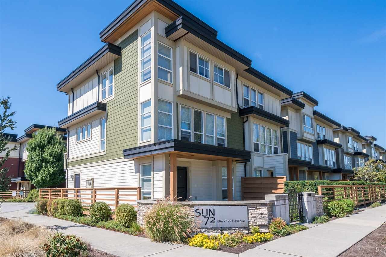 Main Photo: 74 19477 72A Avenue in Surrey: Clayton Townhouse for sale (Cloverdale)  : MLS®# R2199484