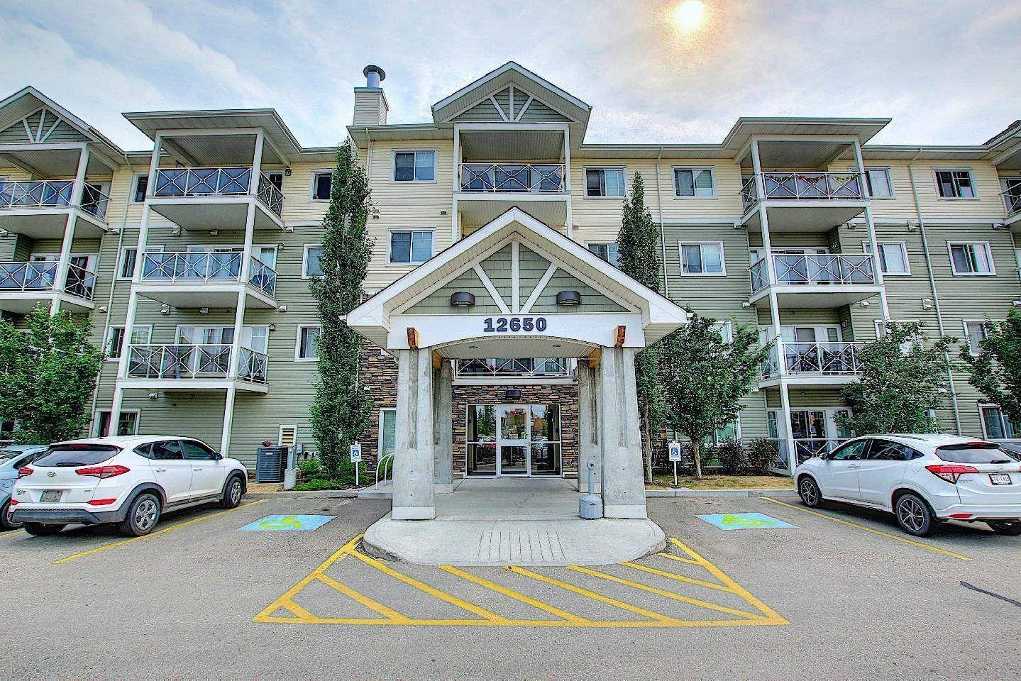 Main Photo: 319 12650 142 Avenue in Edmonton: Zone 27 Condo for sale : MLS®# E4254105