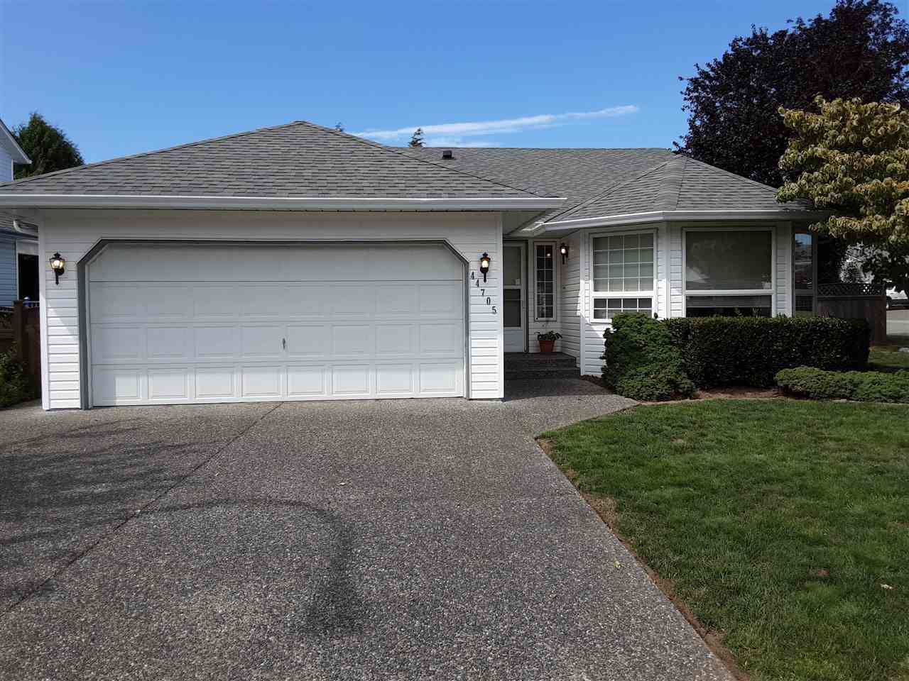 Main Photo: 44705 LANCASTER Drive in Chilliwack: Vedder S Watson-Promontory House for sale (Sardis)  : MLS®# R2485813