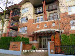 """Photo 18: 201 200 KLAHANIE Drive in Port Moody: Port Moody Centre Condo for sale in """"SALAL"""" : MLS®# R2222800"""
