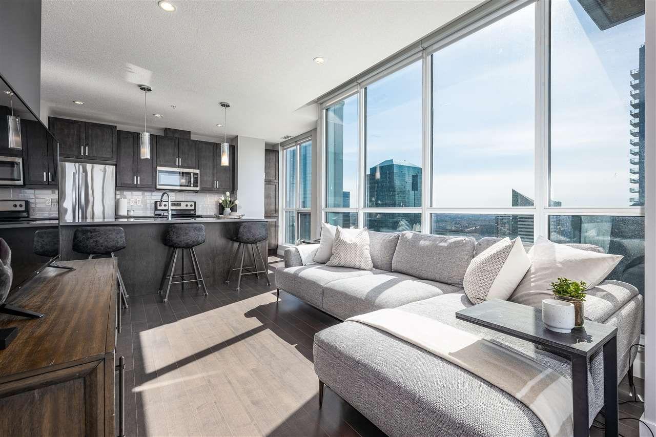 Main Photo: 2407 10238 103 Street in Edmonton: Zone 12 Condo for sale : MLS®# E4238955
