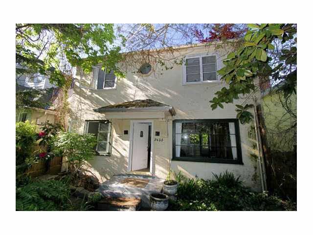 Main Photo: 3455 W 15TH AVENUE in : Kitsilano House for sale : MLS®# V829201