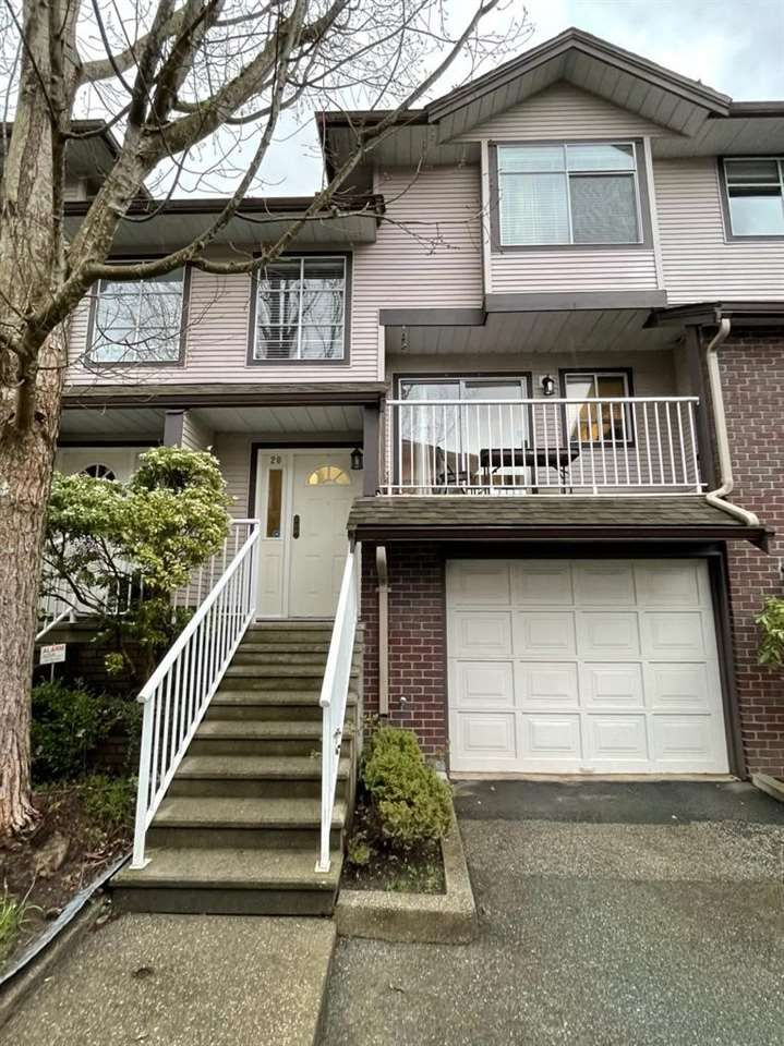 Main Photo: 20 2450 LOBB Avenue in Port Coquitlam: Mary Hill Townhouse for sale : MLS®# R2553560
