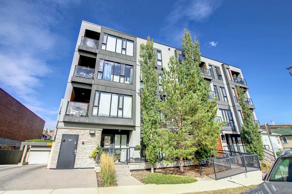 Main Photo: 207 414 Meredith Road NE in Calgary: Crescent Heights Apartment for sale : MLS®# A1150202