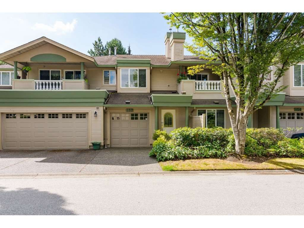 """Main Photo: 157 13888 70 Avenue in Surrey: East Newton Townhouse for sale in """"CHELSEA GARDENS"""" : MLS®# R2490894"""