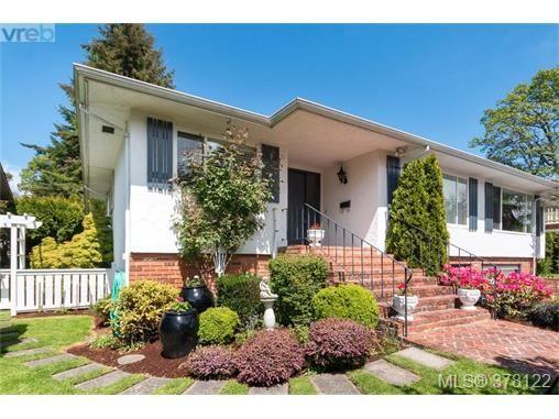 Main Photo: 4048 Magdelin St in VICTORIA: SE Lambrick Park Half Duplex for sale (Saanich East)  : MLS®# 759311