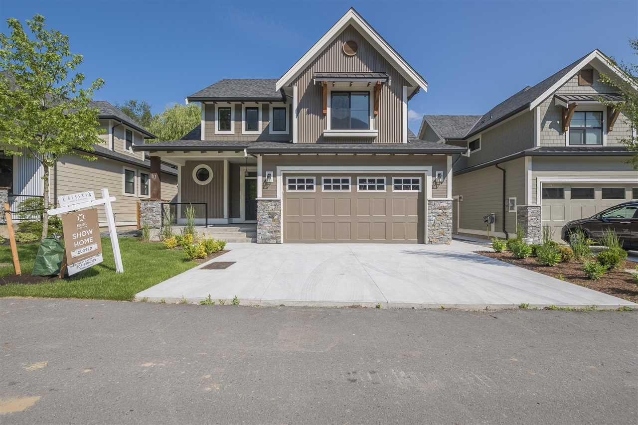 "Main Photo: 10 1885 COLUMBIA VALLEY Road: Lindell Beach House for sale in ""AQUADEL CROSSING"" (Cultus Lake)  : MLS®# R2250003"