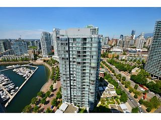 Photo 1: # 3708 1033 MARINASIDE CR in Vancouver: Yaletown Condo for sale (Vancouver West)  : MLS®# V1116535
