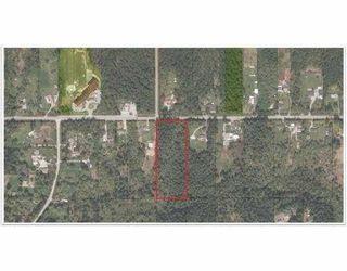 Photo 3: LOT 26 112TH AVENUE in Maple Ridge: Whonnock Land for sale : MLS®# R2029047