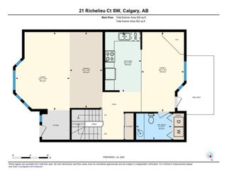 Photo 24: 21 RICHELIEU Court SW in Calgary: Lincoln Park Row/Townhouse for sale : MLS®# A1013241