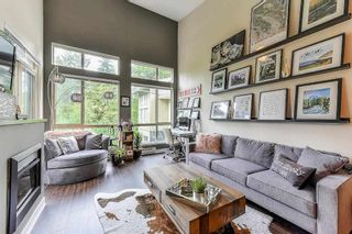 """Photo 1: 403 201 MORRISSEY Road in Port Moody: Port Moody Centre Condo for sale in """"SUTER BROOK"""" : MLS®# R2305965"""