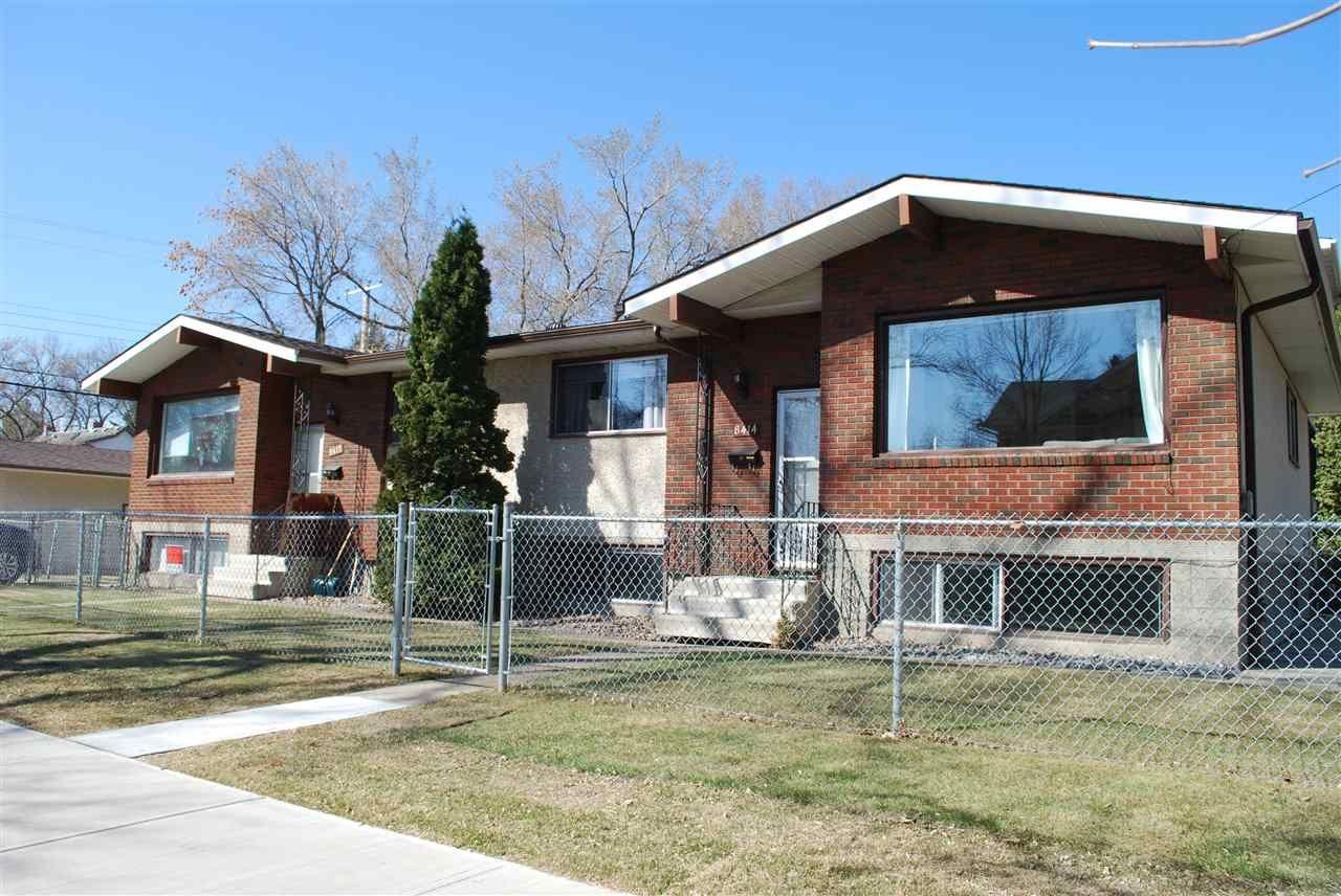 Main Photo: 8412-8414 100 Street in Edmonton: Zone 15 House Fourplex for sale : MLS®# E4240732