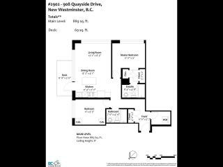 Photo 36: 2902 908 QUAYSIDE DRIVE in New Westminster: Quay Condo for sale : MLS®# R2597889