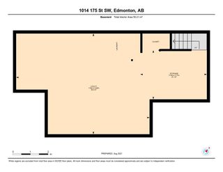 Photo 29: 1014 175 Street in Edmonton: Zone 56 Attached Home for sale : MLS®# E4257234