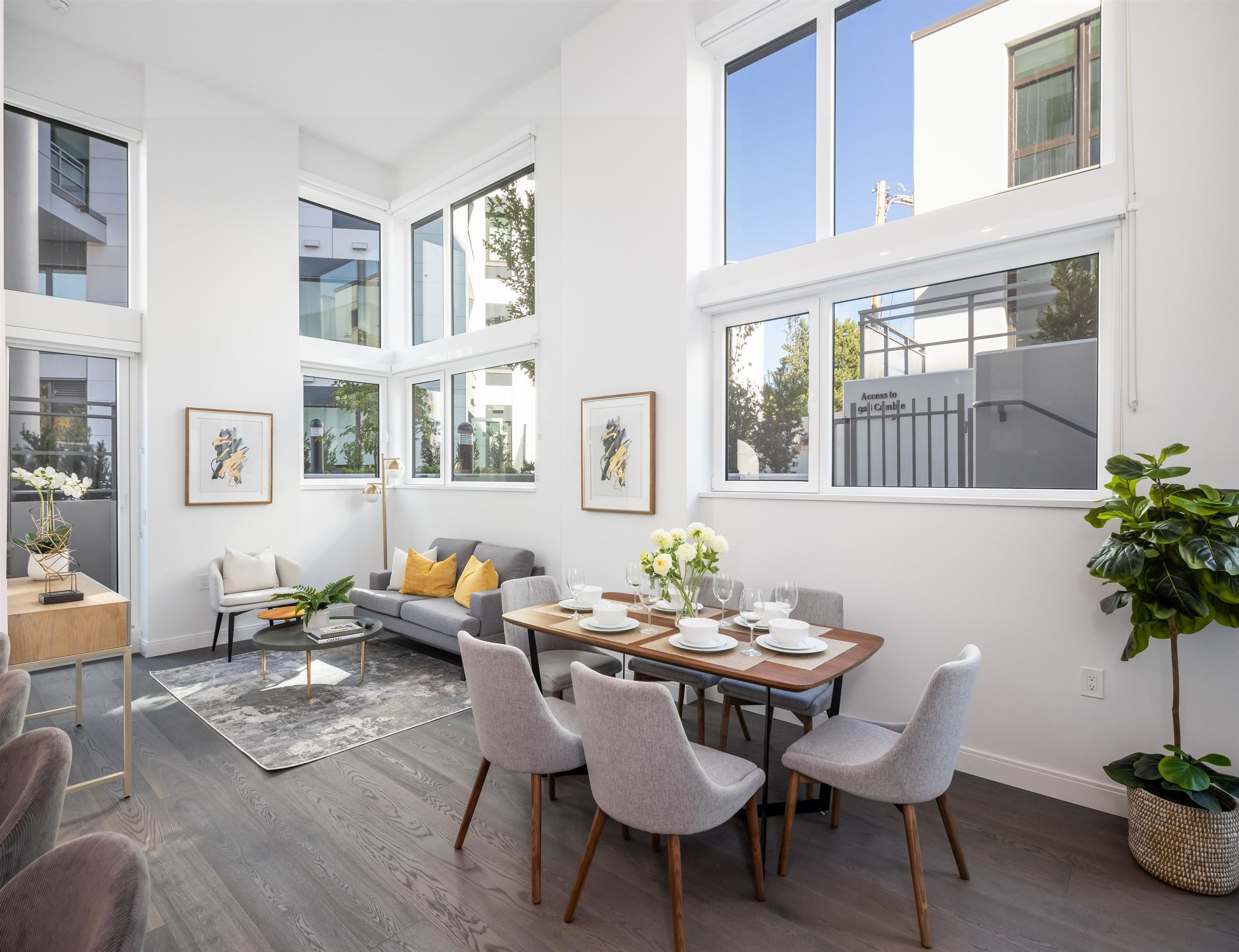 """Main Photo: 101 4932 CAMBIE Street in Vancouver: Fairview VW Condo for sale in """"PRIMROSE BY TRANSCA"""" (Vancouver West)  : MLS®# R2621382"""