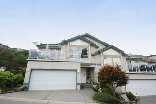 "Photo 1: 16 8590 SUNRISE Drive in Chilliwack: Chilliwack Mountain Townhouse for sale in ""MAPLE HILLS"" : MLS®# H2151687"