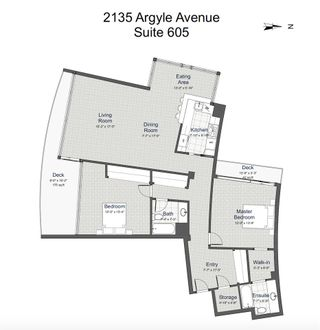 """Photo 10: 605 2135 ARGYLE Avenue in West Vancouver: Dundarave Condo for sale in """"The Crescent"""" : MLS®# R2604356"""