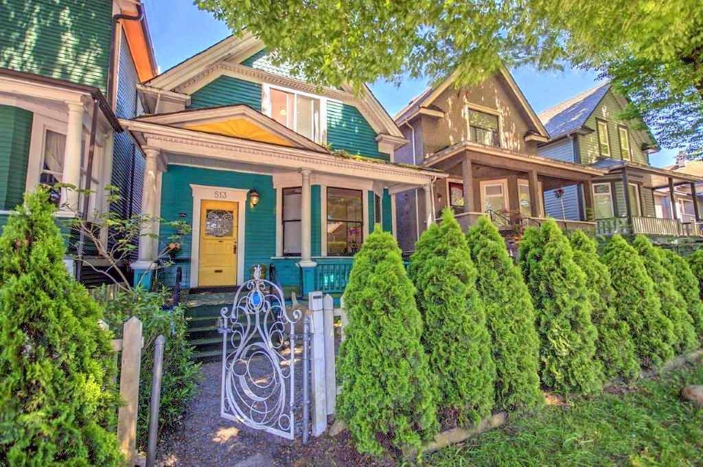 Main Photo: 513 PRIOR Street in Vancouver: Mount Pleasant VE House for sale (Vancouver East)  : MLS®# R2171539