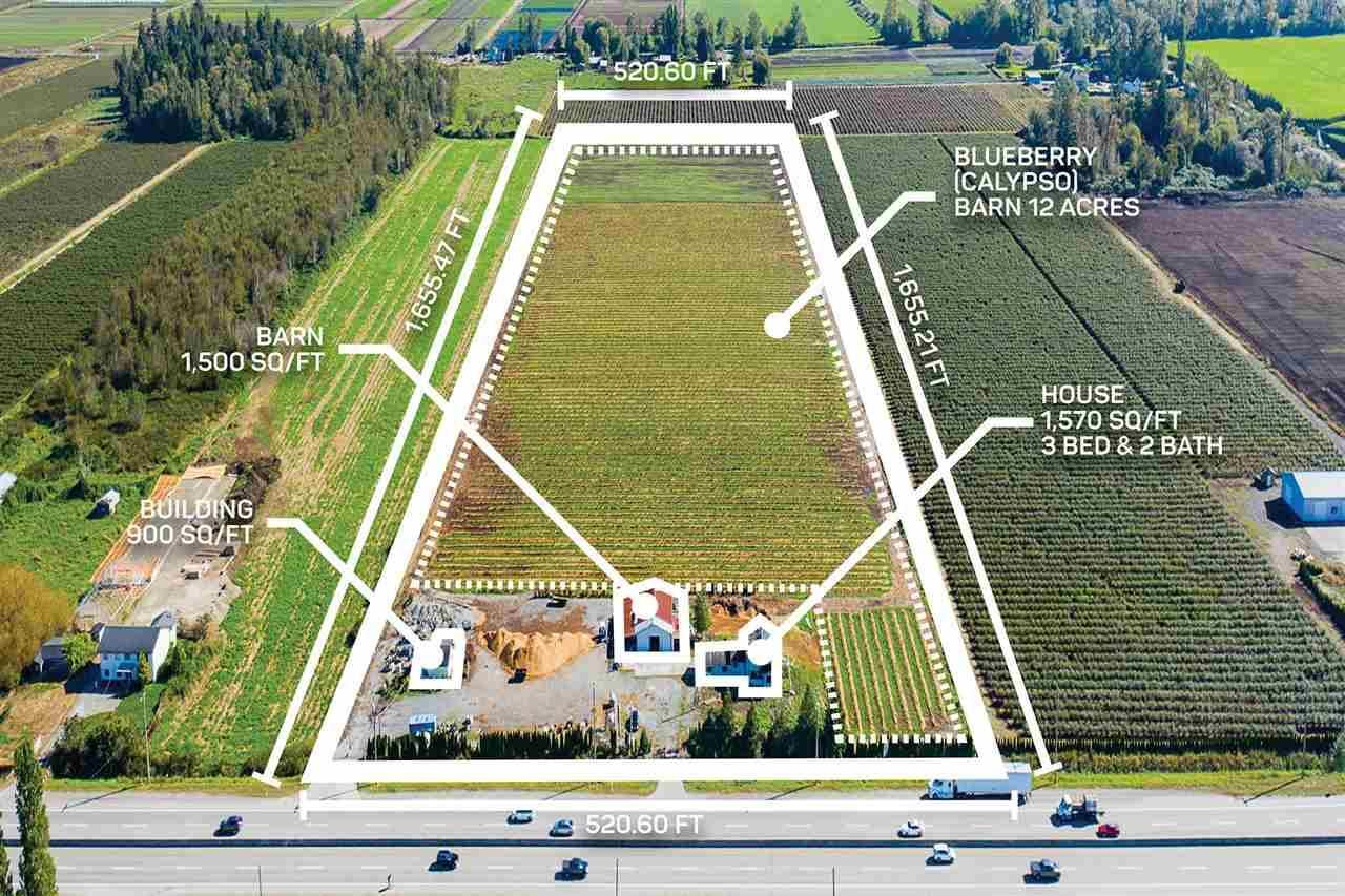Main Photo: 3386 176 STREET in Cloverdale: Agriculture for sale : MLS®# C8034496