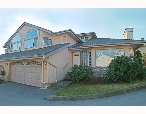 """Main Photo: 441A BROMLEY Street in Coquitlam: Coquitlam East 1/2 Duplex for sale in """"SOUTHVIEW ESTATES"""" : MLS®# V753573"""