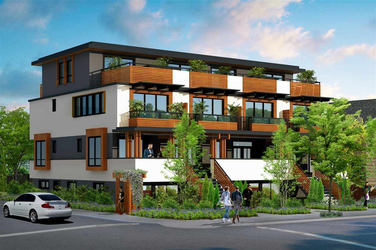 """Main Photo: 2292 E 33RD Avenue in Vancouver: Collingwood VE Townhouse for sale in """"Vancouver Urban Square"""" (Vancouver East)  : MLS®# R2512523"""