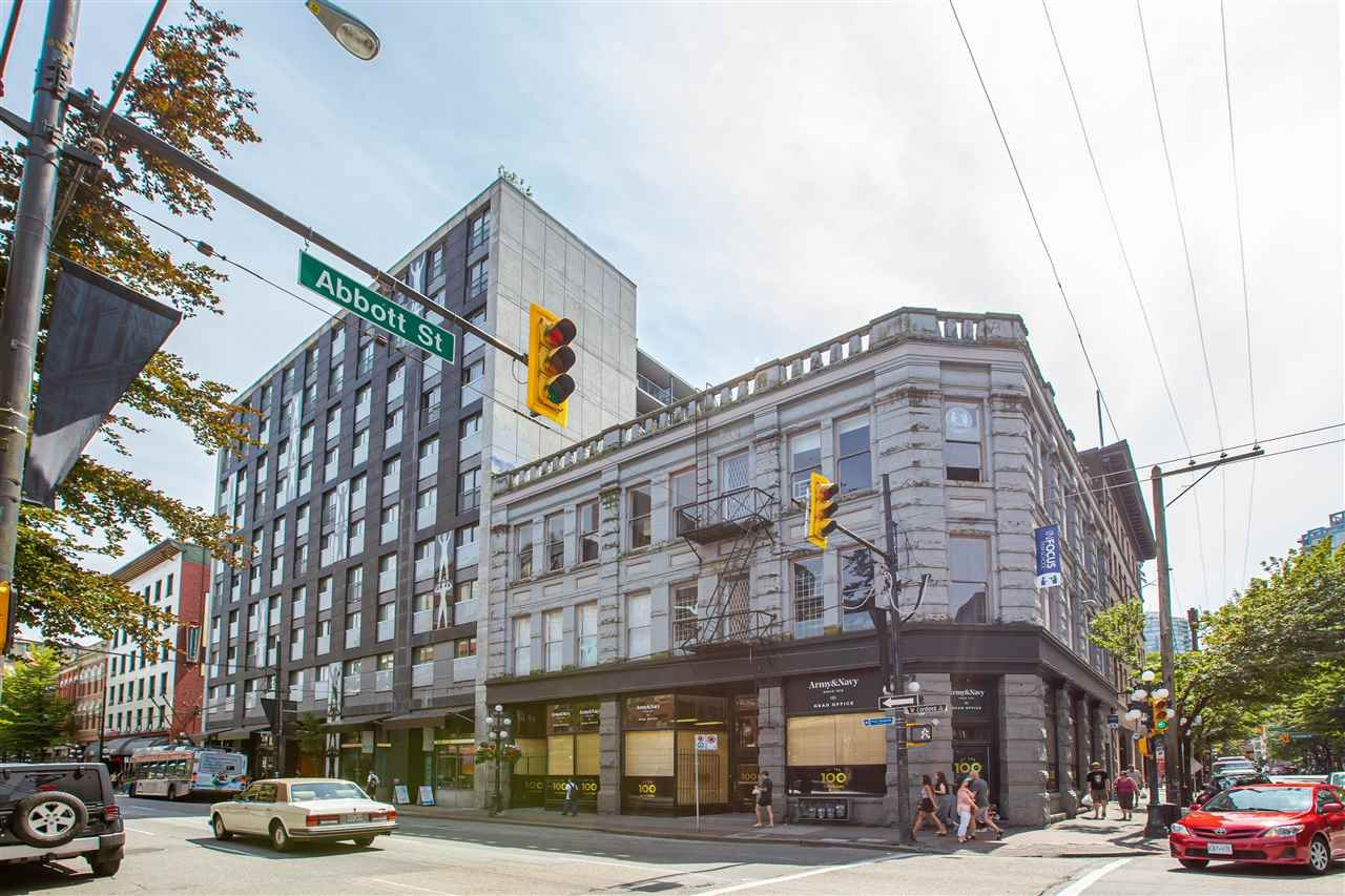 Main Photo: #1107 - 66 W. Cordova St, in Vancouver: Downtown VW Condo for sale (Vancouver West)  : MLS®# R2392178