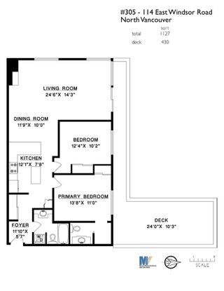 """Photo 24: 305 114 E WINDSOR Road in North Vancouver: Upper Lonsdale Condo for sale in """"The Windsor"""" : MLS®# R2545776"""
