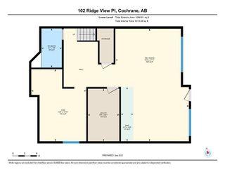 Photo 50: 102 Ridge View Place: Cochrane Detached for sale : MLS®# A1147672