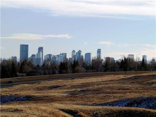 Beautiful views from Nose Hill Park just a few blocks from your new home!