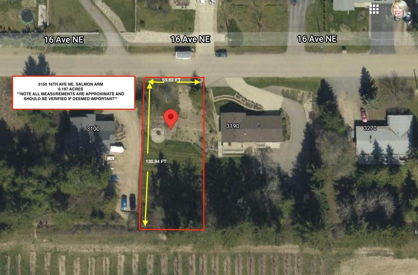 Main Photo: 3150 16th Avenue, NE in Salmon Arm: Vacant Land for sale : MLS®# 10235588