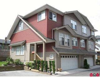 Photo 1: 16 7518 138TH Street in Surrey: East Newton Townhouse for sale : MLS®# F2820251