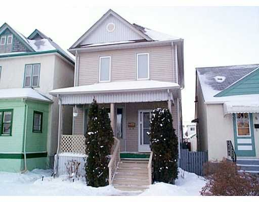 Main Photo: 684 MOUNTAIN Avenue in WINNIPEG: North End Residential for sale (North West Winnipeg)  : MLS®# 2201194