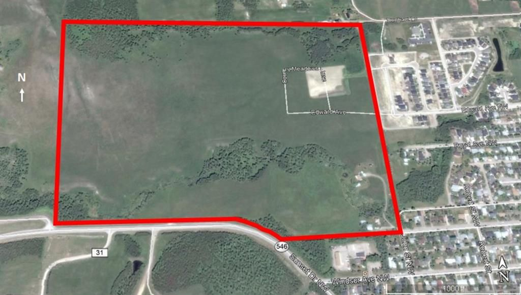 Main Photo: 510 Edgar Avenue W: Rural Foothills County Commercial Land for sale : MLS®# A1084117