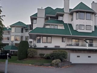 """Photo 1: 203 7651 AMBER Drive in Sardis: Sardis West Vedder Rd Condo for sale in """"EMERALD COURT"""" : MLS®# R2458203"""