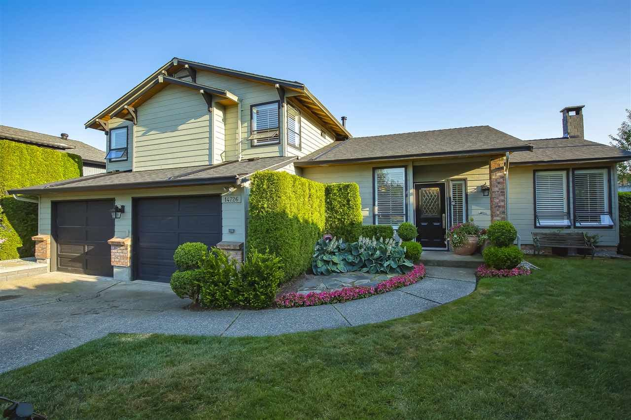 "Main Photo: 14726 89A Avenue in Surrey: Bear Creek Green Timbers House for sale in ""GREEN TIMBERS"" : MLS®# R2482374"