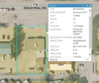 Photo 8: 5207 Industrial Rd: Drayton Valley Office for lease : MLS®# E4235297