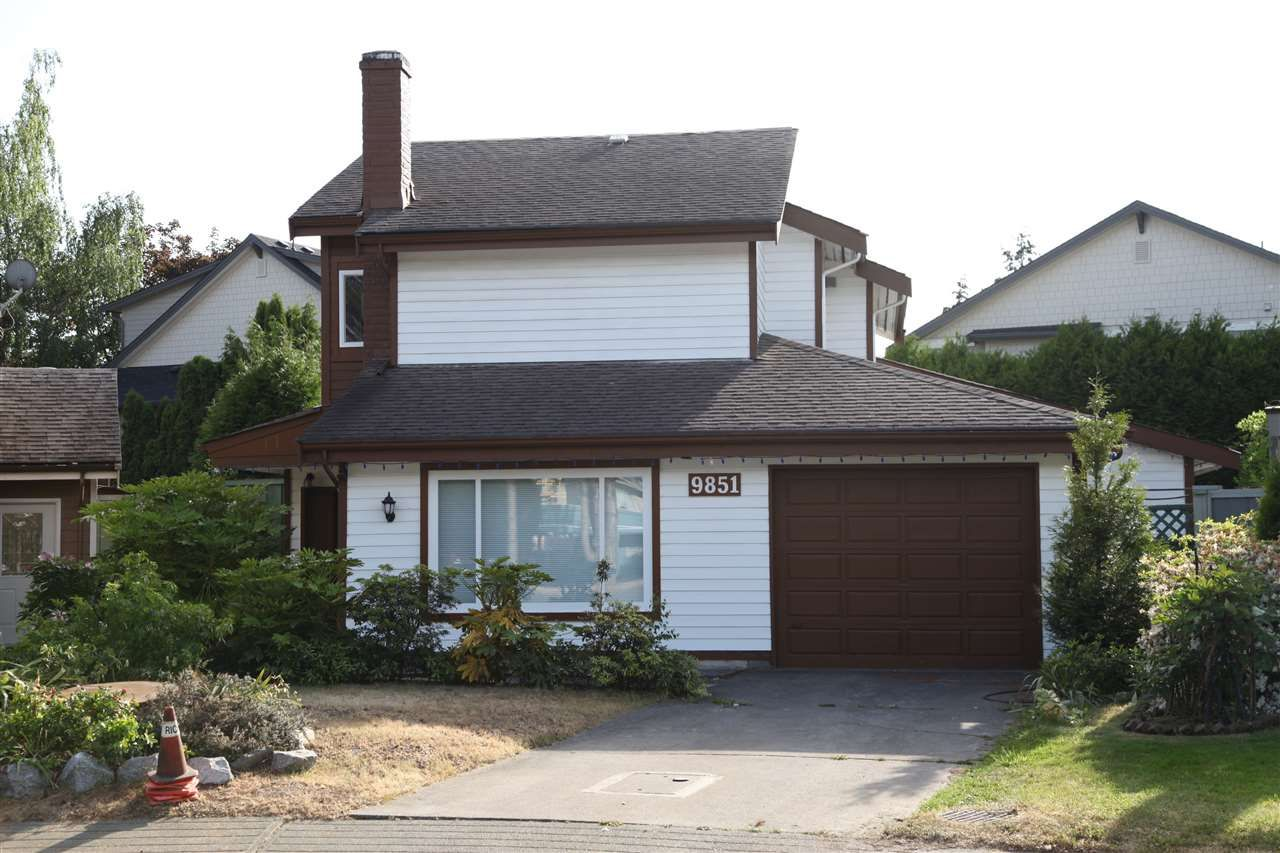 Main Photo: 9851 GILBERT CRESCENT in Richmond: Woodwards House for sale : MLS®# R2119589