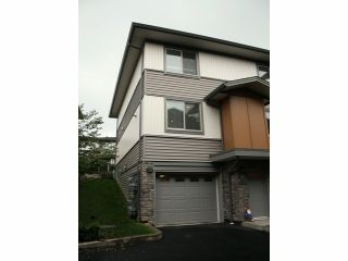 """Photo 1: 62 34248 KING Road in Abbotsford: Poplar Townhouse for sale in """"The Argyle"""" : MLS®# F1325093"""