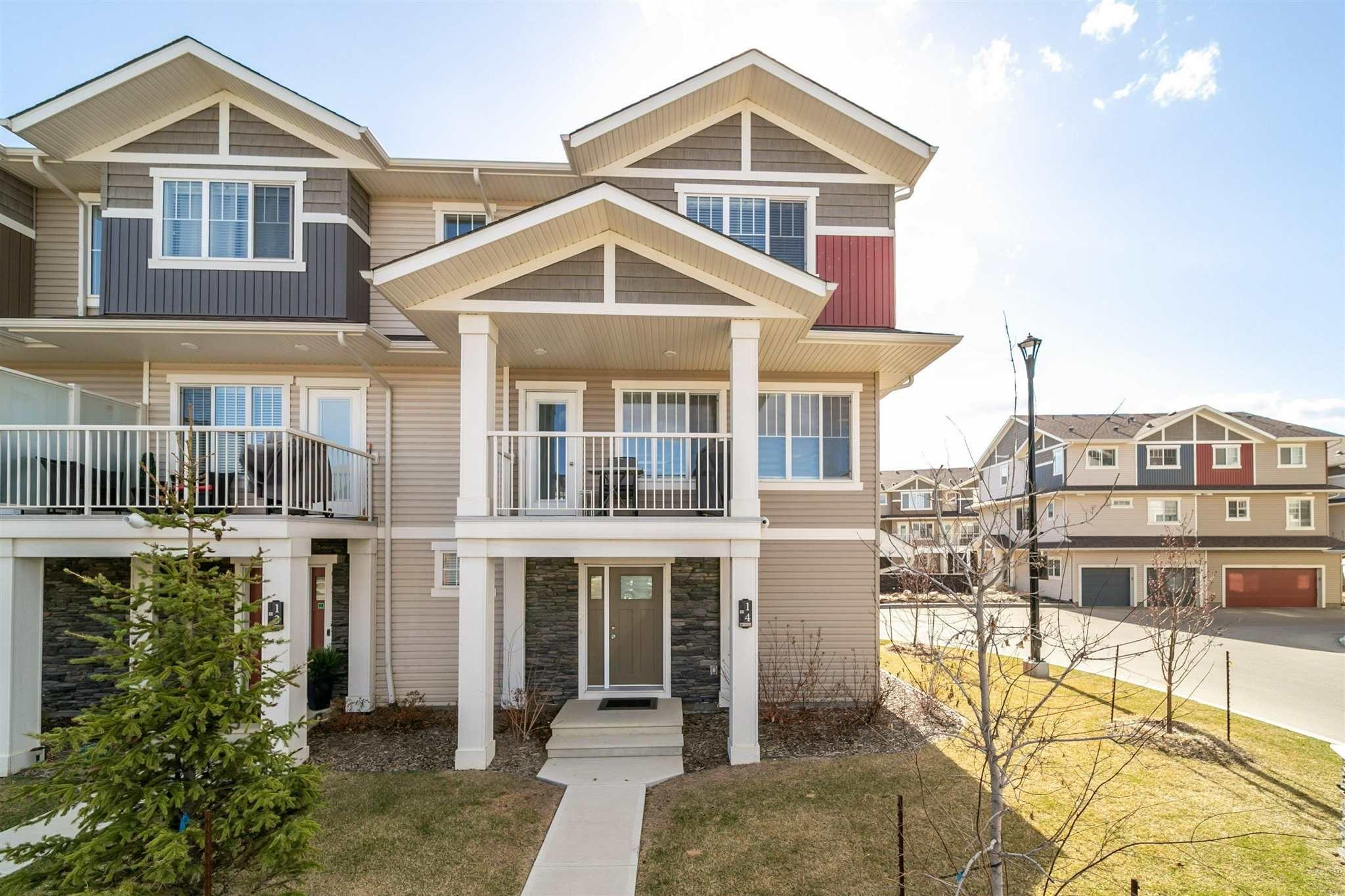 Main Photo: 14 17832 78 Street in Edmonton: Zone 28 Townhouse for sale : MLS®# E4254941