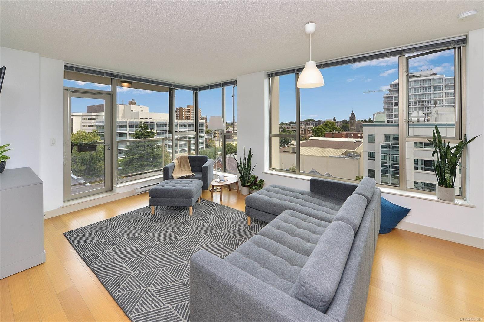 Main Photo: 806 760 Johnson St in : Vi Downtown Condo for sale (Victoria)  : MLS®# 884941