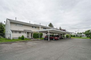 """Photo 1: 16 45215 WOLFE Road in Chilliwack: Chilliwack W Young-Well Townhouse for sale in """"PARKSIDE ESTATES"""" : MLS®# R2458118"""