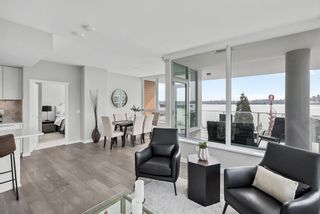 "Photo 1: 702 118 CARRIE CATES Court in Vancouver: Lower Lonsdale Condo for sale in ""Promenade at the Quay"" (North Vancouver)  : MLS®# R2561959"